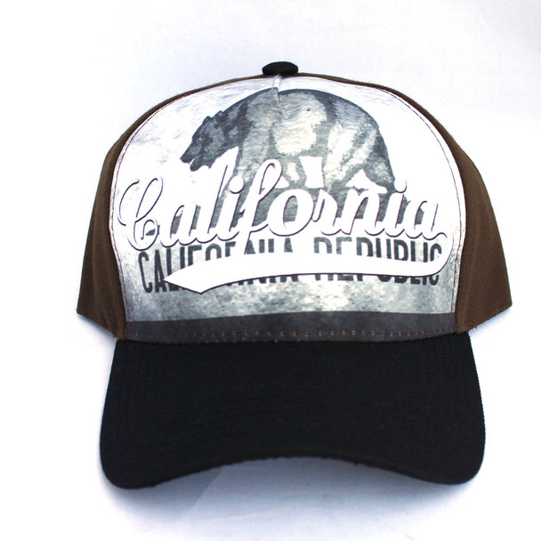 California Bear Hat