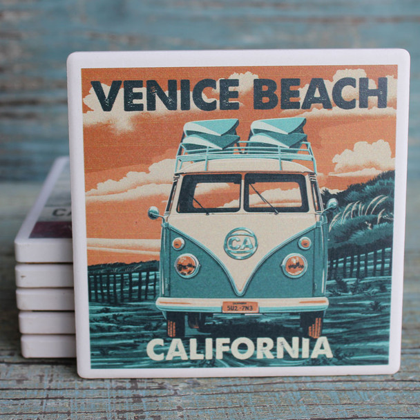 Venice Beach VW Van Coaster