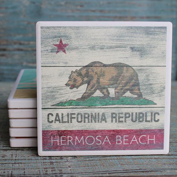 Hermosa Beach California Republic Coaster