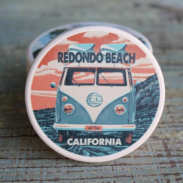 Redondo Beach VW Van Car Coaster