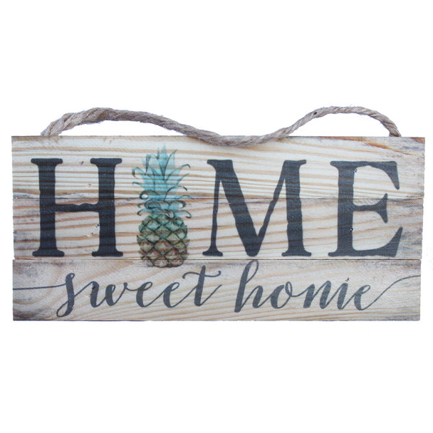 Home Sweet Home Pineapple Rope Sign