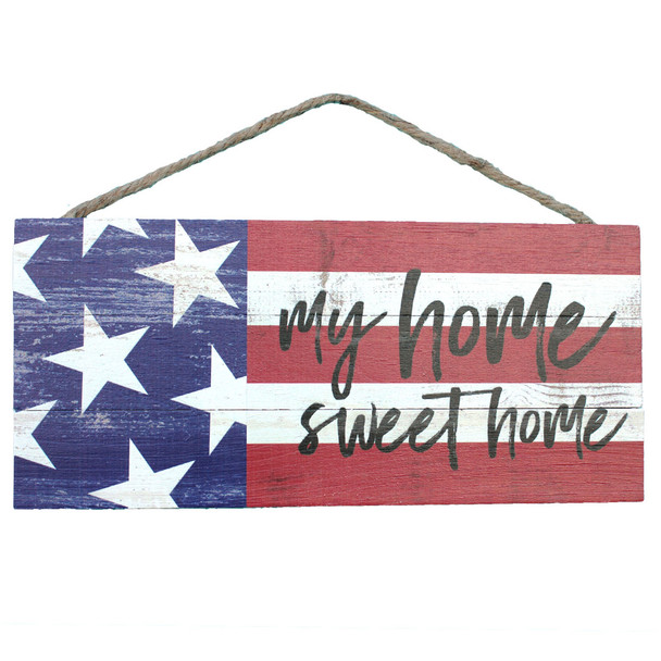 Home Sweet Home Rope Sign
