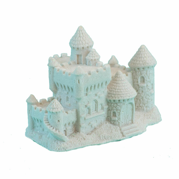 Sand Castle Figurine - White
