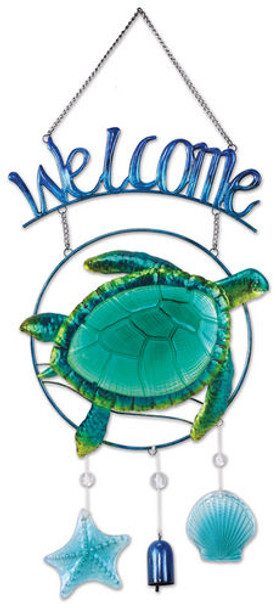 Turtle Welcome Sign