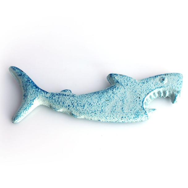 Blue Iron Shark Bottle Opener