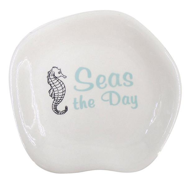 Seas the Day Seahorse Dish