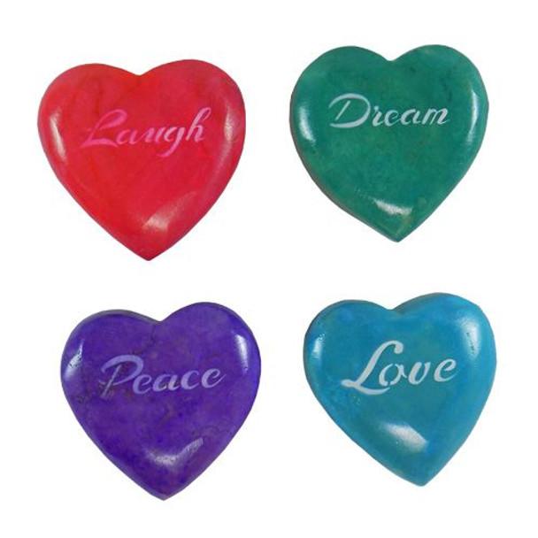 Marble Conversation Hearts