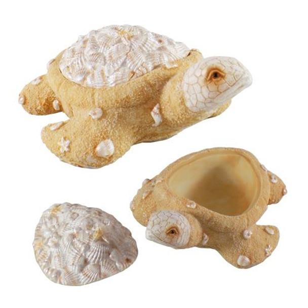 Resin Sand Turtle Box