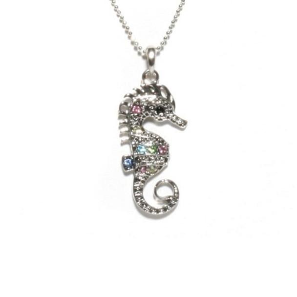 Seahorse Rhinestone Necklaces