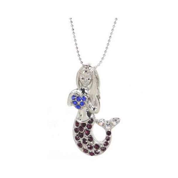 Mermaid Rhinestone Necklace