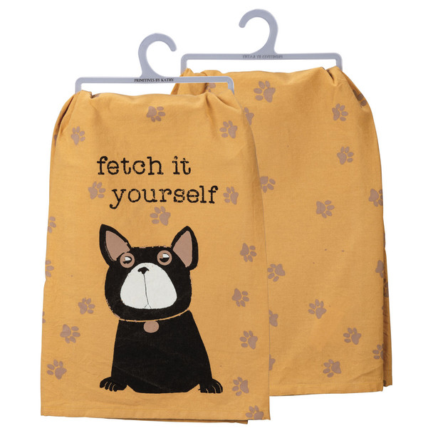 Fetch It Yourself Dish Towel