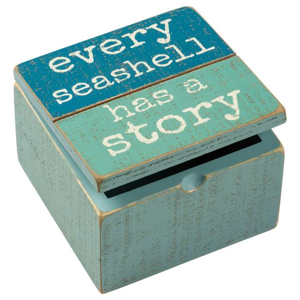 Every Seashell Has a Story Box