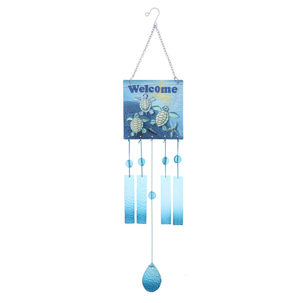 Sea Turtles Welcome Wind Chime
