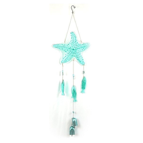 Starfish Glass Chime