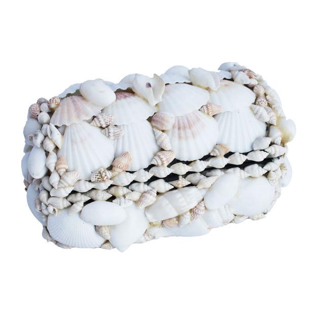 White Seashell Treasure Chest