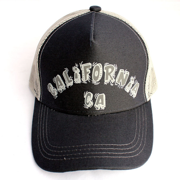 CA Black & Gray Hat