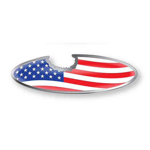 USA Flag Bottle Opener Magnet