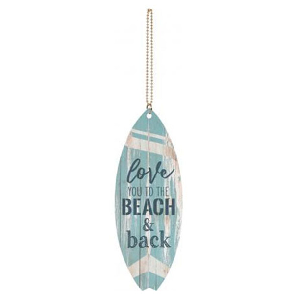Love You to the Beach and Back Car Charm