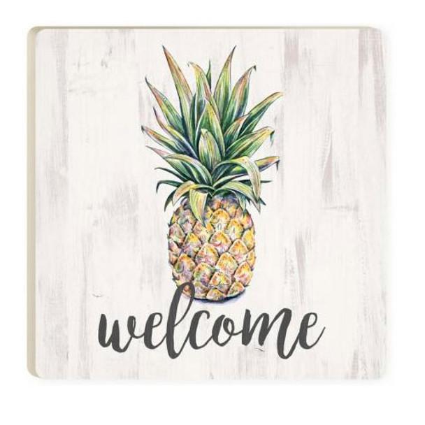 Welcome Pineapple Coaster