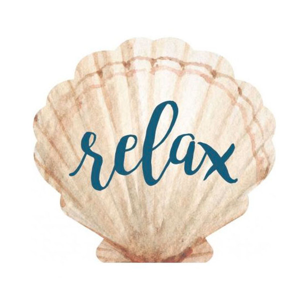 Relax Shell Sign