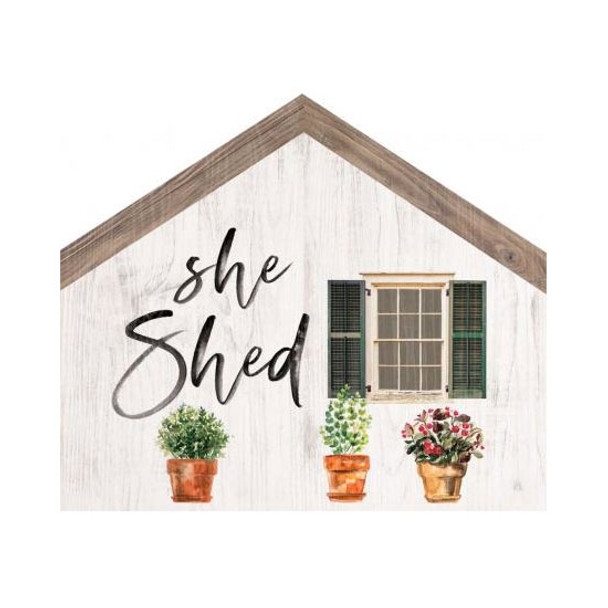 She Shed House Sign
