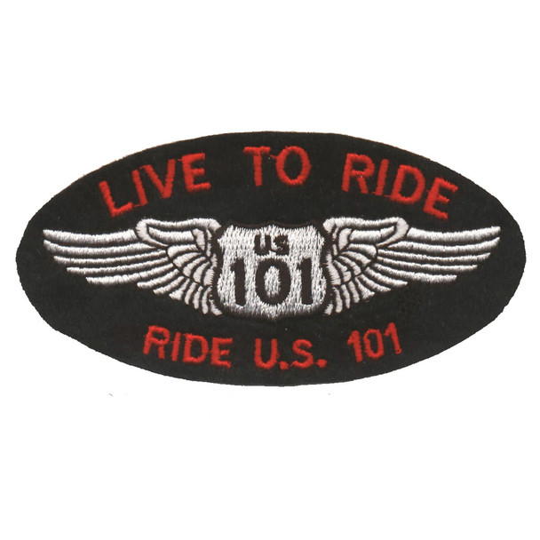 Live to Ride Patch