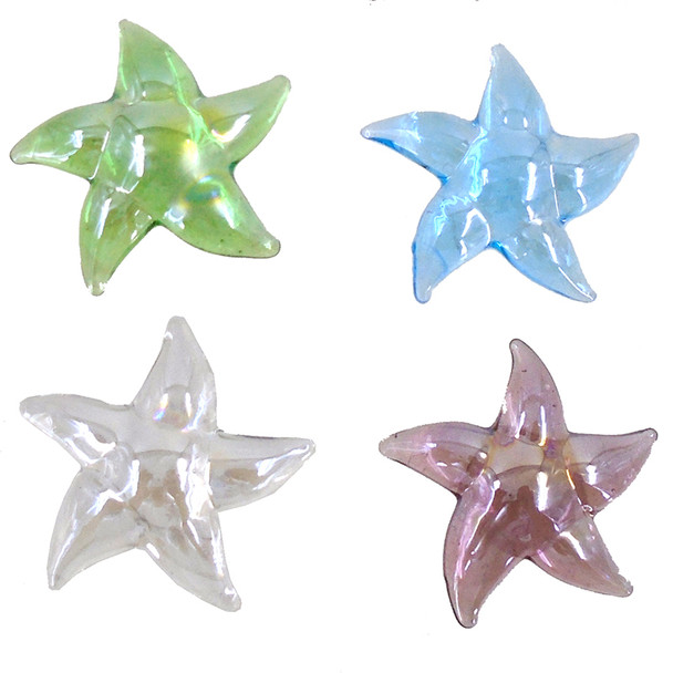 Starfish Glass Paperweights