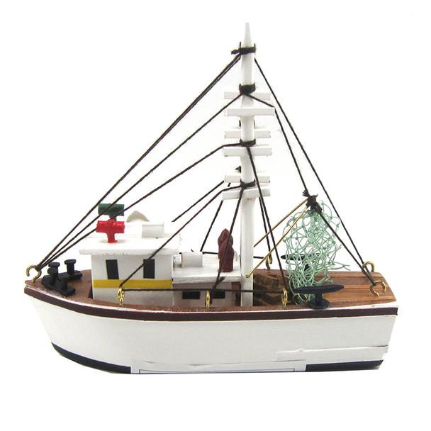 White Shrimp Boat