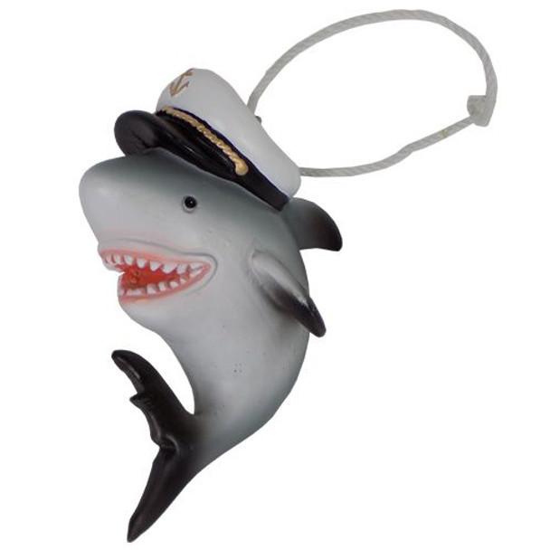 Captain Shark Ornament