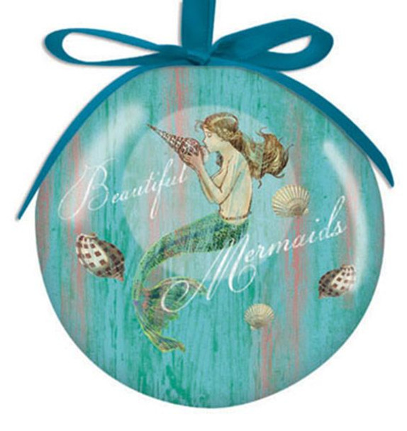 Mermaid Dreams Ball Ornament