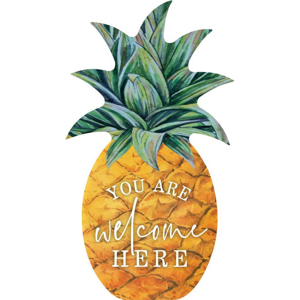 You are Welcome Here Pineapple