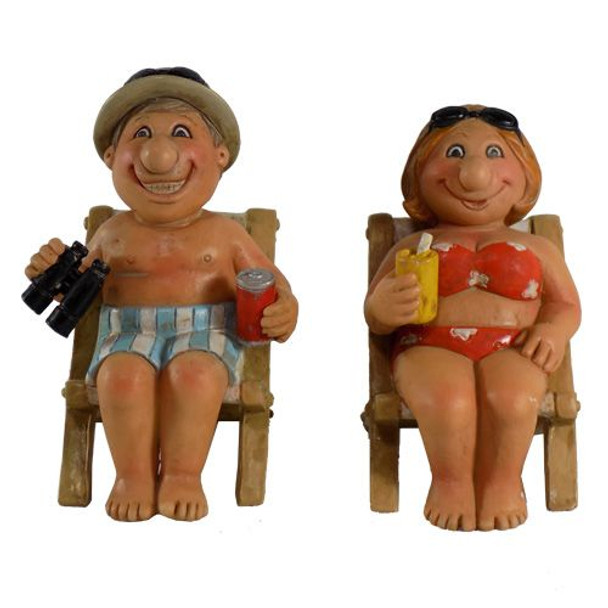 Couple on Beach Chairs