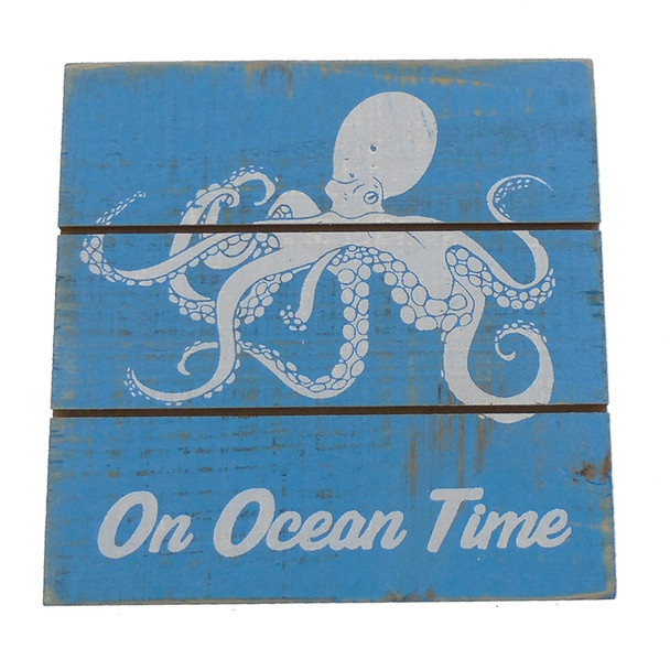 Octopus Easel Sign