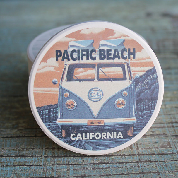 Pacific Beach VW Van Car Coaster