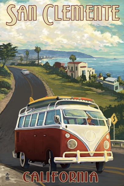 San Clemente Van Cruise Car Coaster