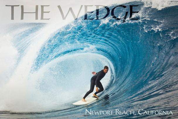 The Wedge Newport Beach Car Coaster