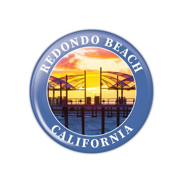 Redondo Beach Pier Button