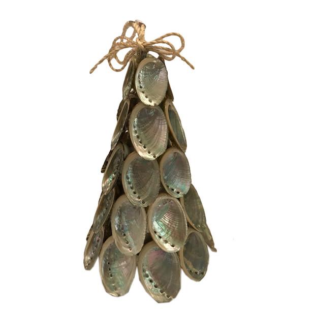 Abalone Christmas Tree Ornament