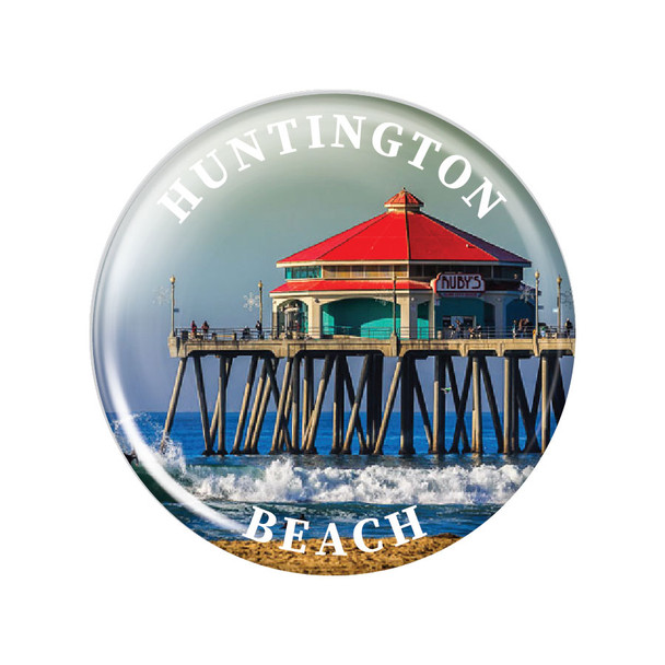 Huntington Beach Ruby's Magnet