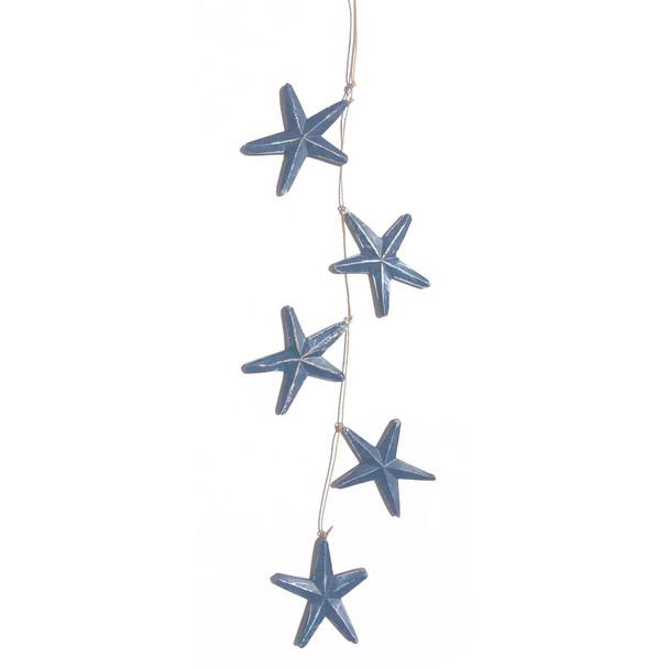 Blue Star Garland