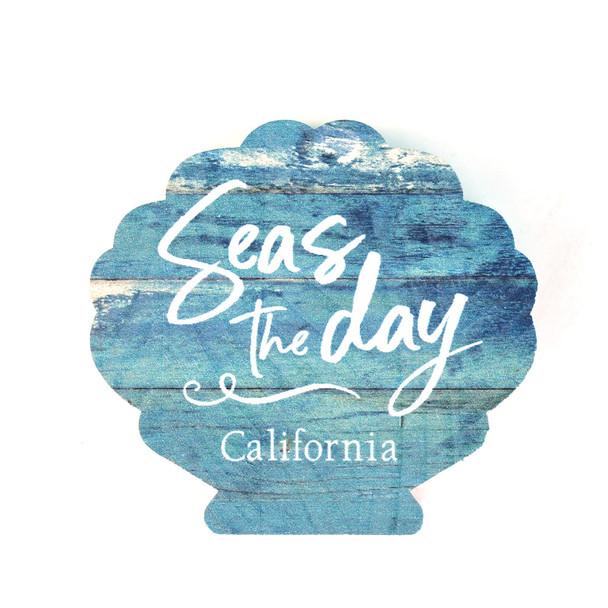 Seas the Day - California Sign