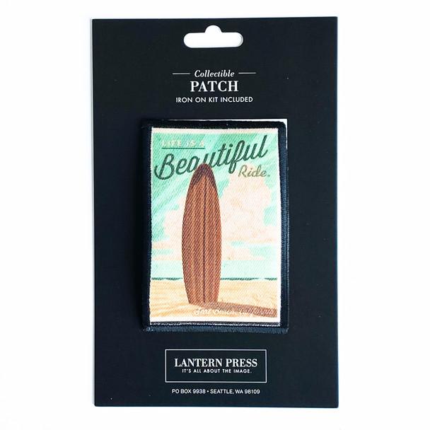 Seal Beach Surfboard Patch