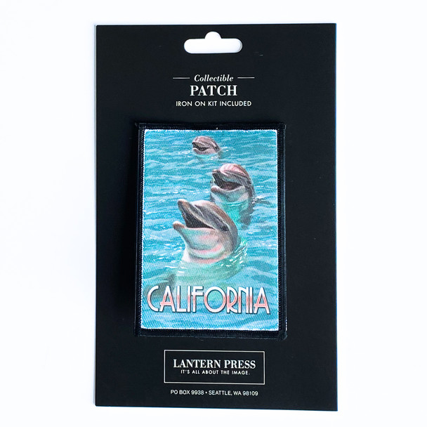 California Dolphins Patch