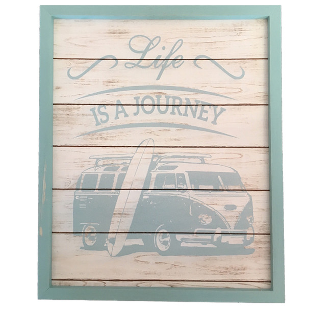 Life is a Journey Plaque