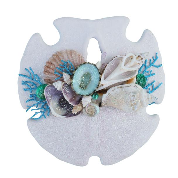 Light Blue Sea Fan Sand Dollar Magnet