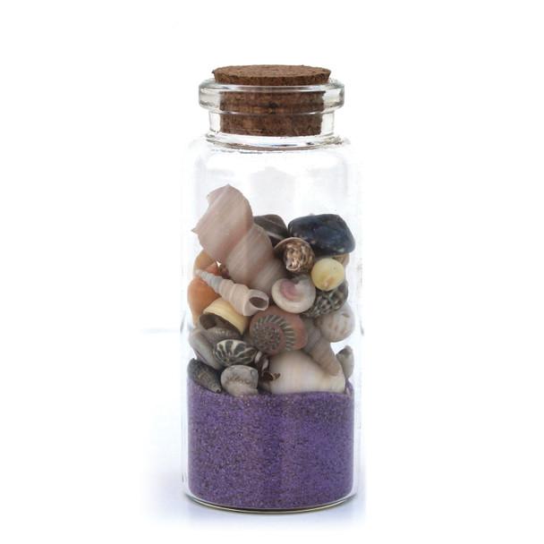 Lavender Beach Bottle Magnet