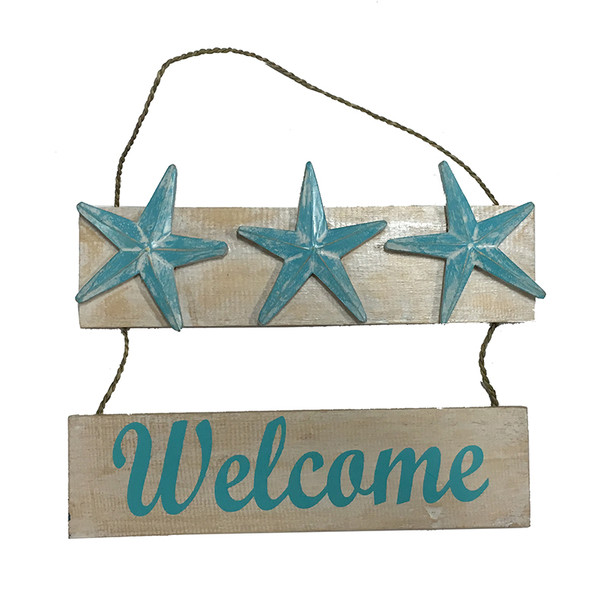 Starfish Welcome Plaque