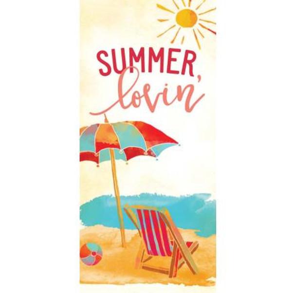 Summer Lovin' Tabletop Block Sign