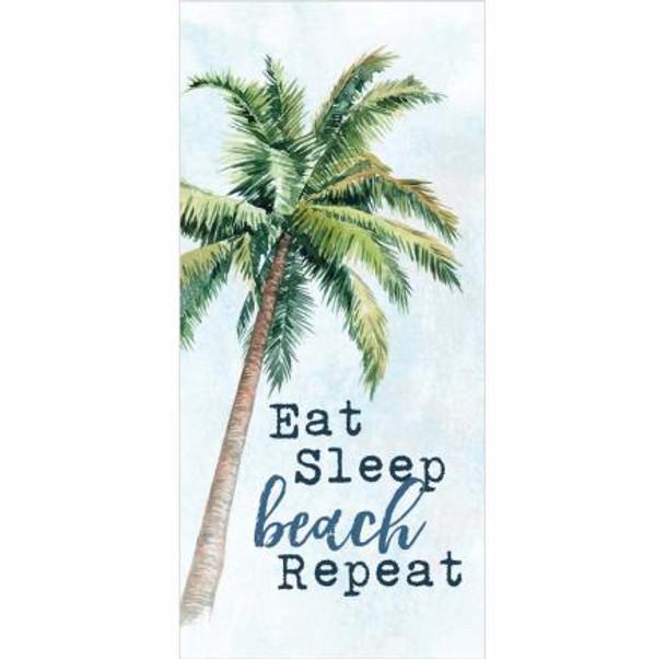 East Sleep Beach Repeat Tabletop Sign