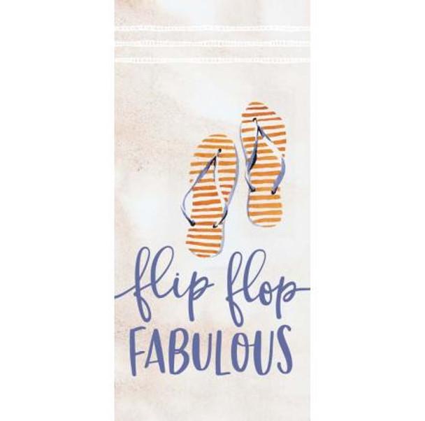 Flip Flop Fabulous Tabletop Sign